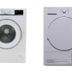 Sharp 7KG wasmachine + Sharp 7KG Condensdroger